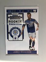 2019-20 Panini Chronicles James Maddison Contenders Rookie Ticket Card