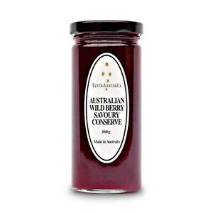 Terra Australis Australian Wild Berry Savoury Conserve 300g