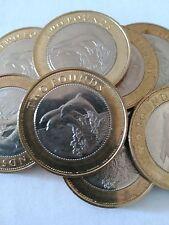 Moneda £ 2 dos libras Gibraltar 2014/15 dolphins