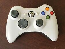 Wireless Game Controller Gamepad for Microsoft XBOX 360 & PC WIN 7 8 10 White