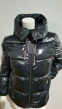 NEW TOMMY HILFIGER PATENT NVY QUILTED PUFFER JACKET...