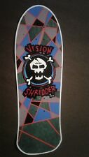 "Vision Shredder Too replica Skateboard Deck Shaped Sticker over 7"""