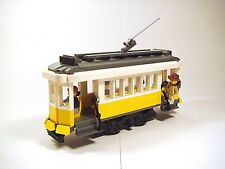 LEGO Custom Modular Building - Lisbon Tram !EXCLUSIVE! - ONLY PDF INSTRUCTIONS!