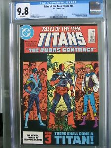 Tales of the Teen Titans #44 CGC 9.8 WP DC Comics 1984 1st app Nightwing