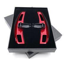 Fiberglas Austausch Schaltwippen Shift Paddle für AMG GT C63 E63 etc 14-20 Rot