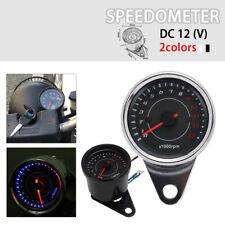12V Motorcycle Digital Tachometer Tachoscope For ATV Dirt Bike Street Bike New
