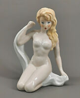 9943064 Porcellana Figura Gräfenthal Nudo Nuda Bellezza Pin-Up-Girl H16, 5cm