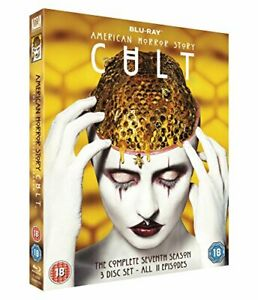 American Horror Story S7: Cult [Blu-ray] [2018] [DVD][Region 2]