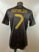 REAL MADRID 2011/2012 RONALDO AWAY FOOTBALL SOCCER JERSEY ADIDAS SIZE M