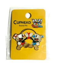 "Cuphead And Mughead Videogame Characters 1"" Enamel Pin by Loungefly"