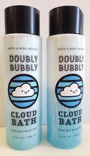 Bath & Body Works Doublement Pétillante Bleu Electrique Ciel Cloud Bain Moussant
