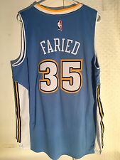 f66b3d367 adidas Swingman 2015-16 NBA Jersey Denver Nuggets Kenneth Faried Light Blue  Sz L