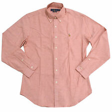 Polo Ralph Lauren Mens Oxford Shirt Slim Fit Stretch Buttondown Long Sleeve New