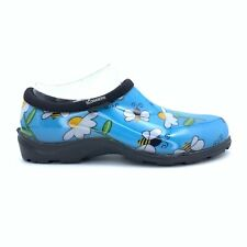 Sloggers Womens Gardening Shoes Size 8 Bumblebees and Flowers NEW