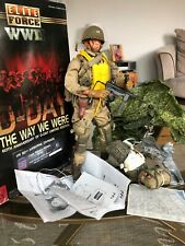 Dragon BBI Elite Force 1:6 D- Day 82nd Airbourne Cpt Bob Piper Para + Photo Book