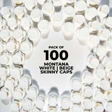 Montana Beige Dot Caps - 100 Pack