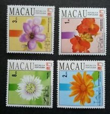 Macau Macao Flowers And Gardens 1993 Flora Plant (stamp) MNH