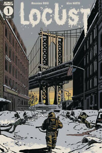 LOCUST #1 CVR A SCOUT COMICS 4/7/21 FREE SHIPPING AVAILABLE