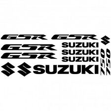Compatible Kit Stickers Autocollants Moto - Suzuki Gsr 750  Réf.MOTO-140