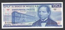 Mexico 50 Pesos  1973  AU  P. 65,  Banknote, Uncirculated