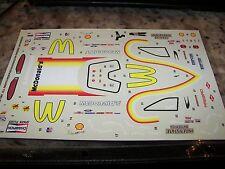 Cruz Pedregon's 1997 McDonald's Funny Car - NHRA Decals Revell 1/24