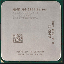 AMD  CPU A4 Series A4-5300 3.4GHz Socket FM2
