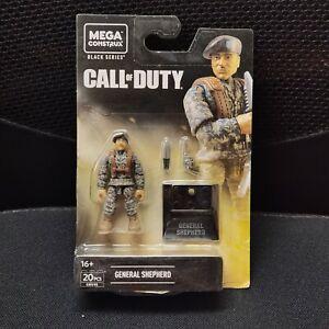 MEGA Construx Call of Duty COD Black Series GENERAL SHEPHERD Action Figure GNV45