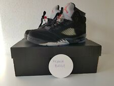 Air Jordan Retro 5 Black Metallic OG BG (2016) US 6.5Y EU 39 CM2 4.5 Nike Air