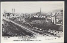 Wales Postcard - Cyfarthfa Ironworks, Merthyr Tydfil - Closed in 1919 - MB1605