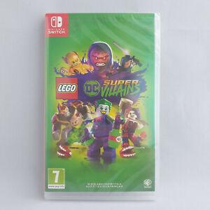 Nintendo Switch - Lego DC Super Villains NEW SEALED