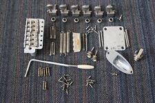 "Fender USA RELIC Chrome Stratocaster 2 3/16"" Body Hardware Set w/ Tuners Strat"