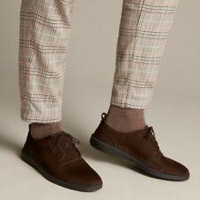 Clarks Active Air Hale Lace Dark Brown Nubuck Men's Casual Shoes Size UK 8.5 G