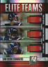 2007 Donruss Elite Teams Red Philip Rivers/LaDainian Tomlinson/Antonio Gates/400