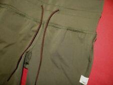 $84 VUORI women's DAILY LEGGINGS Slim quick dry Olive army green pants-SMALL