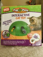 New listing Pop N' Play Interactive Motion Cat Toy Mouse Tease