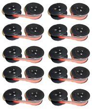 10 Farbband Gruppe 51D NYLON schwarz/rot für Canon Canola CP MP 131 Brother 1205