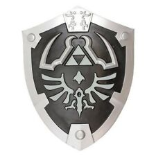 Large Dark Black Link's Knight Hylian Foam Shield from the Game Legend of Zelda