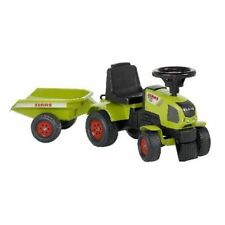 Kinder Rutscher Traktor Modell  Claas mit Anhänger! Neu & Ovp!