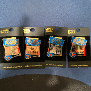 Collectable Disney Exclusive Star Wars Pins New