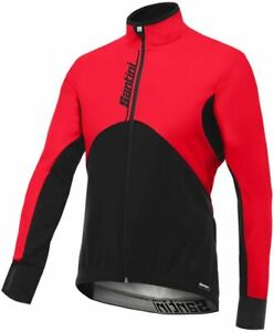 Impero Winter Cycling Jacket in Red by Santini