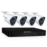 Night Owl CL-84P2-4K Channel 4K Ultra HD Wired Smart Security DVR with 2 TB