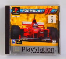 Formula 1 97 Playstation 1 Game, GC, Complete, Sony, PS1, PSX, PAL