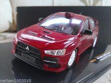 Camión de automodelismo y aeromodelismo IXO color principal rojo