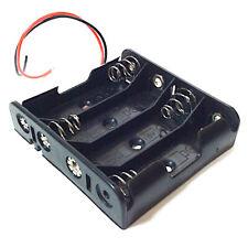 Coupleur 4 Piles AA R6 R06 Lr6 Lr06 Boitier Support 4-AA Battery Holder Box Case