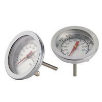 Stainless Steel Oven/Grill Thermometer 100°C-500°C Cooking BBQ Probe stainless