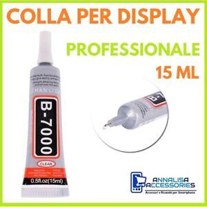 COLLA B-7000 PER DISPLAY RIPARAZIONE SMARTPHONE CELLULARI VETRI TOUCH LCD 15ml
