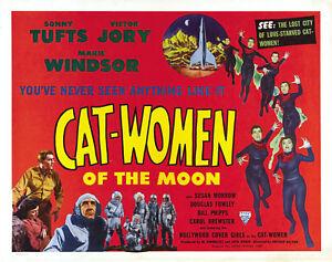 Cat-Women of the Moon 1953 Adventure Sci-Fi  DVD