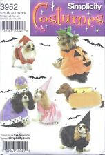 Dog PUMPKIN WITCH PRINCESS KING Hat COSTUME Sewing Pattern UNCUT Small Med Size