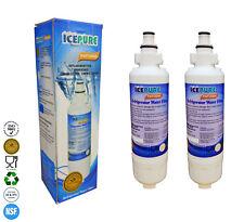 2 x icepure RWF3400A compatibile per Panasonic CNRAH - 257760 Filtro acqua