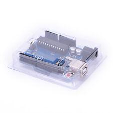 Transparent Plastic Case Cover Shell Enclosure Computer Box For Arduino UNO NJ